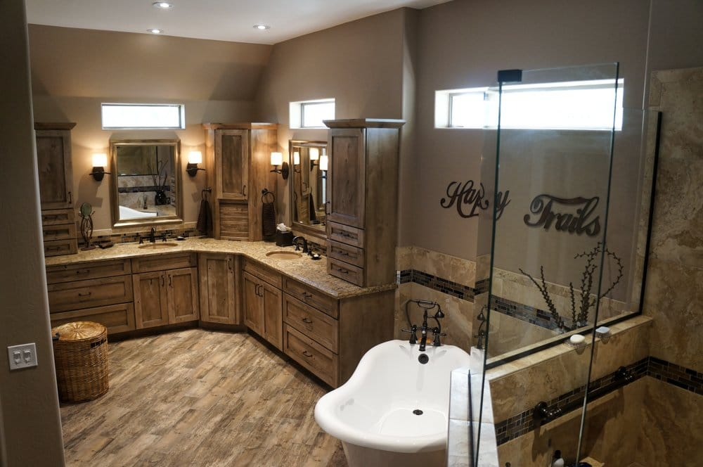 Home remodeling mesa az kitchen remodel bathroom remodel How long does a bathroom renovation take